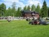 Mötesplats för veteranbilar på sommaren