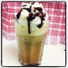 caffe med glass