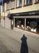 Café LEVA och en skugga