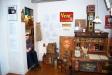 Museeiutställningen ´Lanthandel´ i Caféet