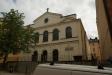 Andreaskyrkan sedd från högbergsgatan.