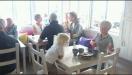 Fika och kroppkakor 22 juli 2012 på Café Måsen