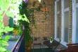 Mysig lummig balkong