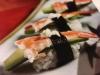 Avokado-räka sushi
