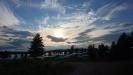 Utsikten från våran campingtomt.