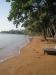Liten men välskött strand