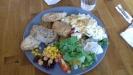 Kycklingfile och potatisgratäng blev dagens val på Ebbas mat och Kaffe