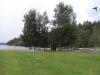 Utsikt från vår campingtomt