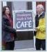 Ägarna öppnar cafét