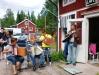Glada musikanter i Röjdåfors Musik-Cafe