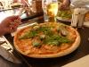 Trossens pizza med skaldjur