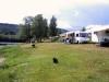 Camping direkt till Klarälven