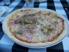Pizza Capricciosa från Restaurang Solbacken