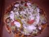 Kebabpizza nöt.