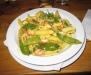 Currypasta med skaldjur