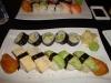 12 bitar vegetarisk sushi för 79 kronor.