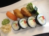 8 bitar vegetarisk sushi 65kr