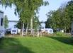 Sjöutsikt från Mjölknabbens camping.