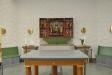 Det gamla altarskåpet från forna kyrkan