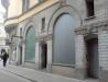 Så här såg det ut i april 2009 där Café Madeleine tidigare låg.