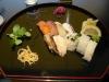 9-bitars på Samba Sushi.