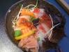 En shirashi-sushi på Samba.
