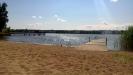 Utsikt från stranden.