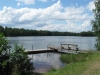 Offentliga badplatsen vid Barnsjön