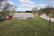 Badplatsen från grässlänten.