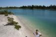 Blå Lagunen på Gotland. Klarblått vatten!