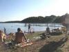 Bosarpasjöns en varm sommardag