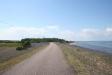 Härlig cykelväg utmed Djupviks stränder.