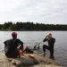 Domarudden, Drängsjön