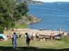 klippbad och windsurfingcenter finns vid detta bad.