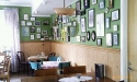Interiör från Saidys café