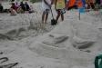 en av konstverken från sandslottstävlingen 2009