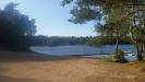 Fedingesjön en sommarkväll i juli -18