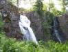 Utsikt över vattenfallet