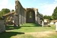 Kyrkan i klostret hade en imponerande storlek.