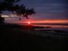 Solnedgång i Ekeviken.
