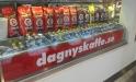 Kaffebönor hos Dagnyskaffe på Centralen i Stockholm.