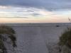 Vacker entré till strand
