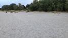 Stor bred sandstrand