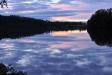 Solnedgång i Granö