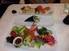 8 bitars - sushi strut - mellan sashimi