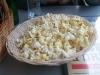 Popcorn får man gratis som tillbehör innan maten (^_^)