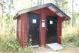 Toaletterna är nybyggda och fräscha.