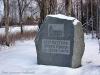 1954 restes denna sten på platsen där kyrkan stod.