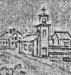 Teckning av C.J.F. Plageman fr ca 1840.