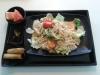 Japanska nudlar m kyckling i kimchi sås